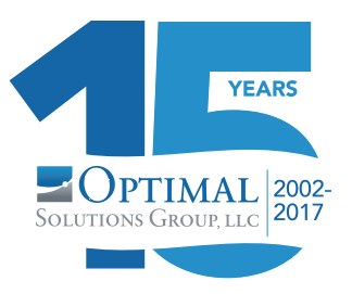 15 years anniversary of Optimal Solutions Group, LLC