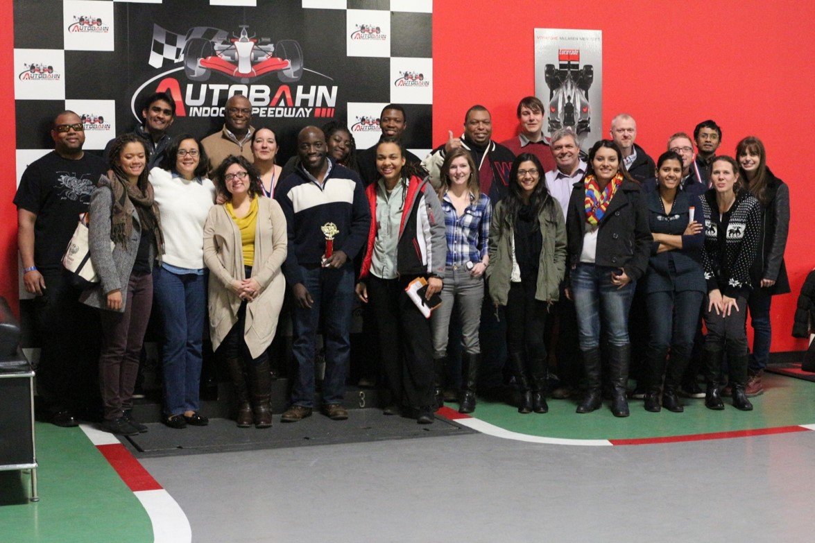 Go-Kart Racing Participants