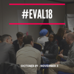 Optimal to Discuss Logic Models at Evaluation 2018 Conference
